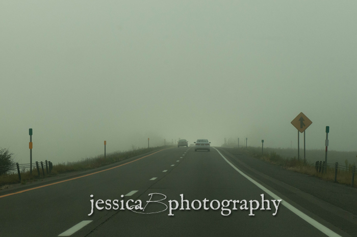 thick fog