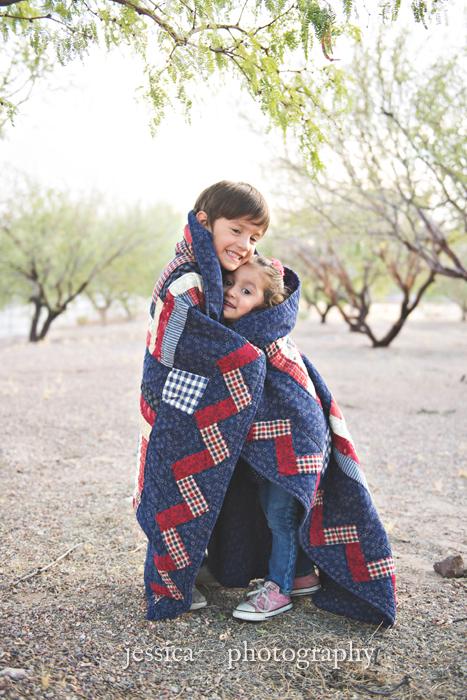blanket hug