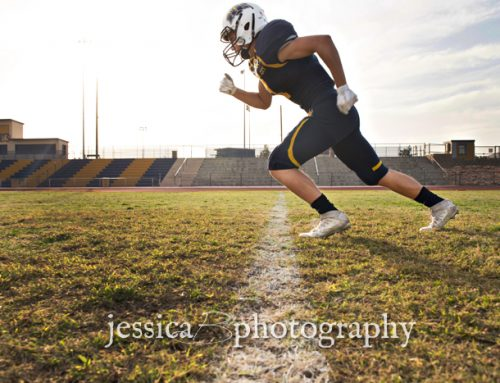 Briggs | Football Senior Portraits