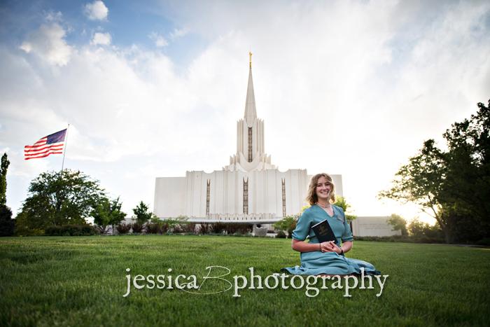 LDS missionary Jordan River Temple